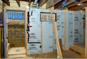 Basement Insulation - R15 - Ridged Foam